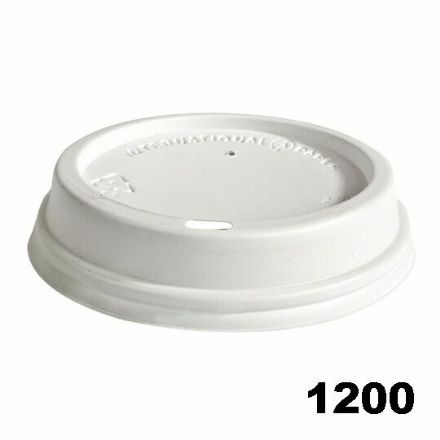 Sip Lids for 12oz / 16oz Cups - White (1200) CASE